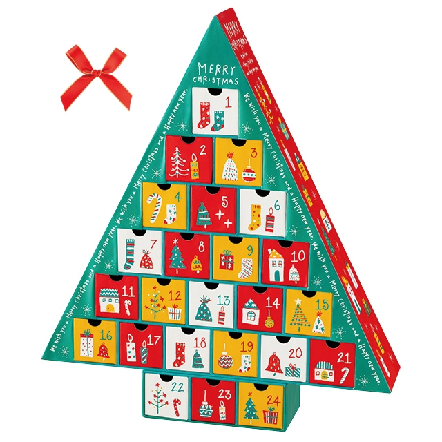 クリスマスドリームアドベントカレンダー-1: ギフト箱・紙トレー ...